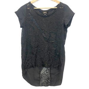 Mossimo Black Short Sleeve Top - Small